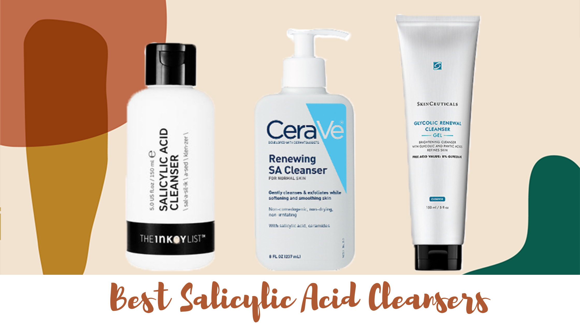 Salicylic Acid Cleanser /  Face Wash for that Perfect Skincare Routine